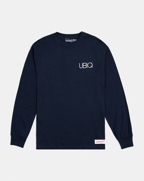 Ubiq M&N x Branded Long Sleeve Tee (Navy)
