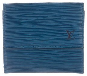 Louis Vuitton Epi Elise Wallet - BLUE - STYLE