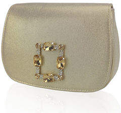 Adrianna Papell Salem Ornament Rocker Clutch Bag
