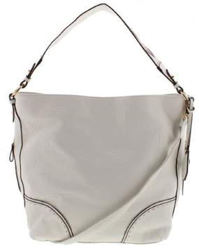 Jessica Simpson Womens Lani Faux Leather Convertible Hobo Handbag
