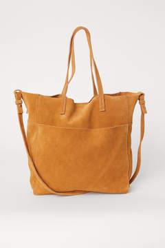 H&M Suede Shopper - Orange