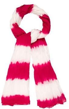 Sonia Rykiel Tie-Dye Print Scarf