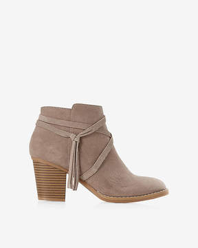 Express Side Tie Ankle Booties