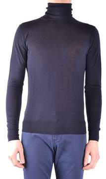 Armani Jeans Men's Blue Wool Sweater.