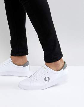 Fred Perry Spencer Canvas Sneakers in White