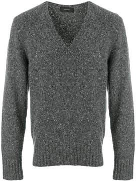 Joseph long sleeved V-neck sweater