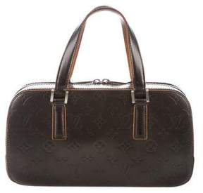 Louis Vuitton Monogram Mat Shelton Bag