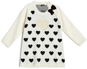 GUESS Heart Sweater Dress (0-24m)