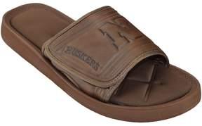 NCAA Adult Nebraska Cornhuskers Memory Foam Slide Sandals