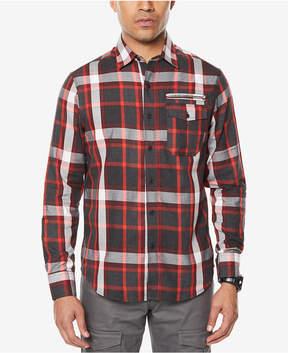 Sean John Men's Plaid Shirt, Created for Macy's