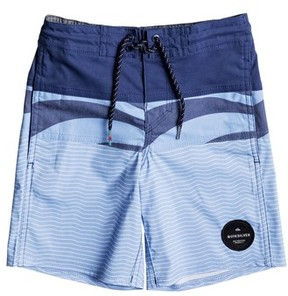 Quiksilver Toddler Boy's Heatwave Blocked Board Shorts