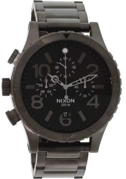 Nixon Men's 48-20 A486632 Gunmetal Stainless-Steel Quartz Fashion Watch