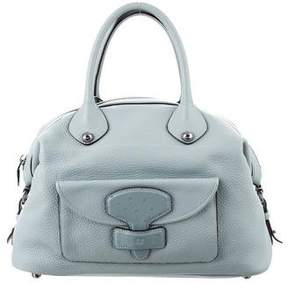 Loewe Ostrich-Trimmed May 36 Bag
