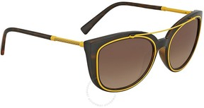 Versace Brown Gradient Cat Eye Sunglasses VE4336 108/13