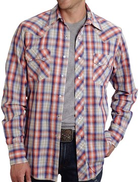 Roper High-Performance Plaid Shirt - Snap Front, Long Sleeve (For Men)