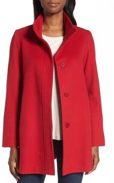 Fleurette Women's Cashmere Car Coat