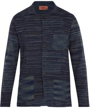 Missoni Patch-pocket wool-knit blazer
