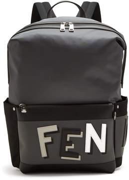 Fendi Shadow-logo nylon backpack