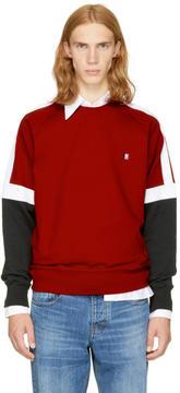Ami Alexandre Mattiussi Tricolor Logo Sweatshirt