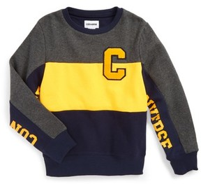 Converse Boy's Colorblock Sweatshirt