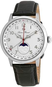 Lucien Piccard Silver Dial Men's Moonphase Watch
