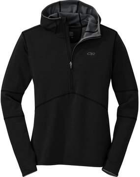 Outdoor Research Shiftup Half-Zip Fleece Hooded Jacket