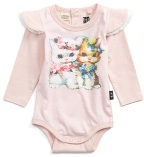 Rock Your Baby Infant Girl's Lulu & Lola Bodysuit