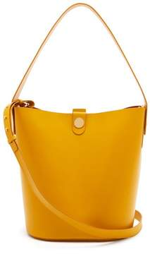 Sophie Hulme Swing Large Leather Bag - Womens - Yellow