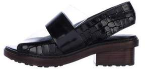 3.1 Phillip Lim Darwin Peep-Toe Loafers