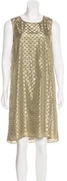 Erin Fetherston Metallic Midi Dress