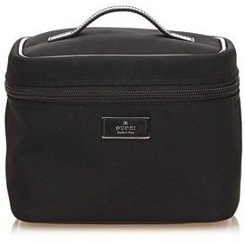 Gucci Pre-owned: Nylon Vanity Bag. - BLACK - STYLE