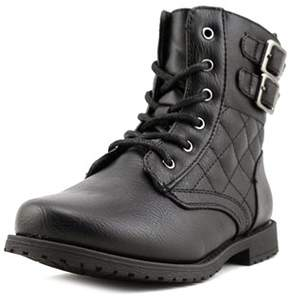 Rachel Lil Apollo Youth Round Toe Synthetic Black Boot.