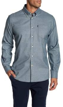 Barbour Theo Forest Tailored Fit Long Sleeve Shirt