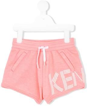 Kenzo logo drawstring shorts