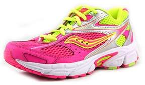 Saucony Cohesion 8 Ltt Youth Ew Round Toe Synthetic Pink Running Shoe.