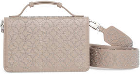 Alaia Light beige studded cross body bag