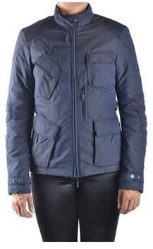 Brema Women's Blue Polyester Outerwear Jacket.