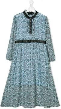 John Richmond Kids paisley print dress