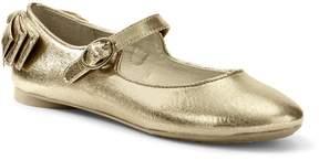 Lands' End Lands'end Girls Mary Jane Bow Ballet Flats
