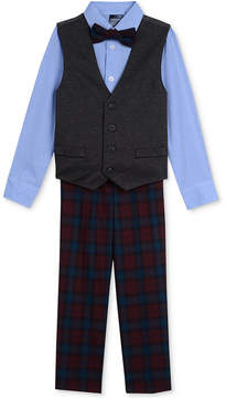 Nautica 4-Pc. Shirt, Vest, Pants & Bowtie Set, Toddler Boys (2T-5T)