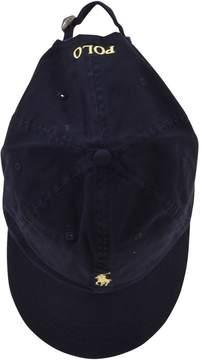 Polo Ralph Lauren Logo Detail Baseball Hat
