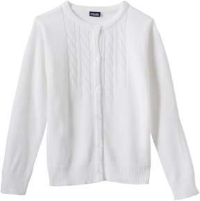 Chaps Girls 4-16 School Uniform Cardigan