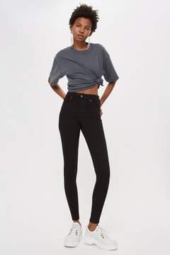 Topshop Black Jamie Jeans