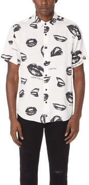 Ksubi Read My Lips Short Sleeve Shirt