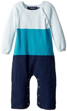 Toobydoo Color Block Jumpsuit Boy's Jumpsuit & Rompers One Piece
