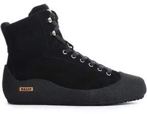 Bally Men's Black Other Materials Hi Top Sneakers.