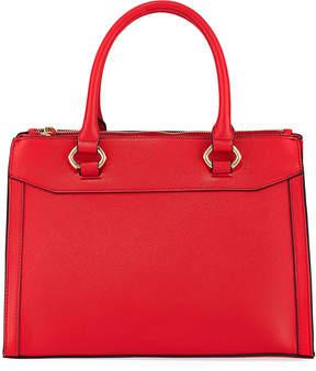 Neiman Marcus Maris Faux Saffiano Satchel Bag