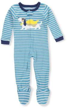 Carter's Boys' Footed Pajamas - blue, 4t