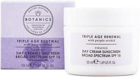 Botanics Triple Age Renewal Firming Day Cream Sunscreen Broad Spectrum SPF 15