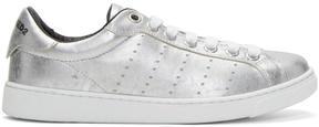 DSQUARED2 Silver Santa Monica Sneakers